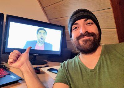 Készül a videoklip Torres Danival